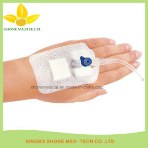 IV Cannula Fixation Transparent Film Dressing pictures & photos