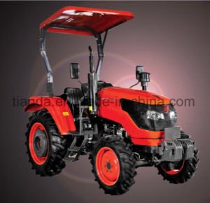 New 55HP Four-Wheel Driving Wheel Tractor with Diesel Engine Kubota Type (OX554) pictures & photos