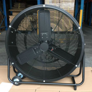 30 Inch Floor Standing Fan/ Drum Fan/ High Velocity Fan for Commercial/ Industrial/ Factory/ Workshop Use pictures & photos