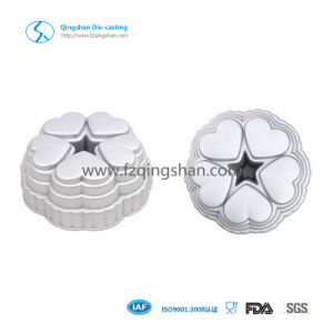 Gray Color Non Stick Aluminum Die Casting Cake Pan pictures & photos