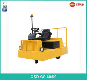Factory Sale 6 Ton Medium 3-Wheel Electric Tow Tractor