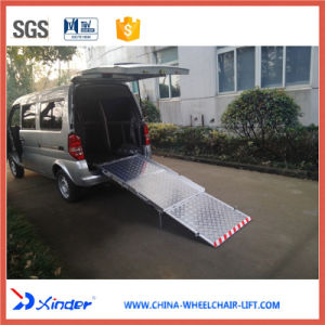 Bmwr-3 Manual Wheelchair Ramp Load 350kg for Van pictures & photos