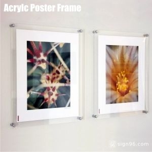 Wall Mount Acrylic Poster Frames pictures & photos