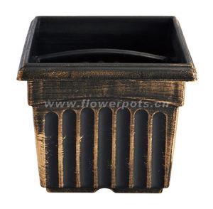 Square Plastic Garden Pot (KD4001S-KD4004S) pictures & photos