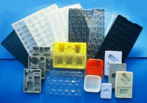 OEM plastic blister tray made in China (cosmetic box) pictures & photos