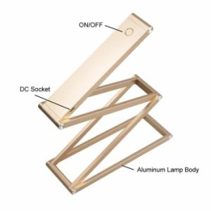 Foldable LED Table Lamp 360 Degree Rotation DIY Folding pictures & photos