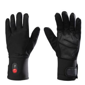 Savior 5 Finger and Back Hot Heating Cycling Glove Heated Glove pictures & photos