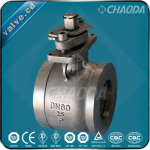 Wafer Ends Floating Ball Valve pictures & photos
