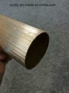 6063t5 Alloy Matt Anodized Aluminum/Aluminium Extrusion Tube pictures & photos