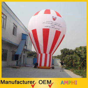 Good Price Advertising Inflatable Hot Air Shape Ground Balloon pictures & photos