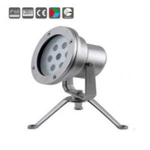 Stainless Steel 9X1w/9X3w IP68 RGB LED Underwater Light pictures & photos