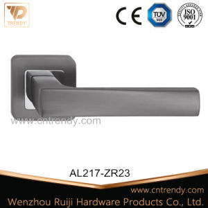 Entry Door Hardware Zinc Alloy Zamak Lock Latch Handle (Z6327-ZR23) pictures & photos