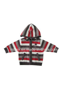 Hooded Comfortable Warm Coat for Children pictures & photos