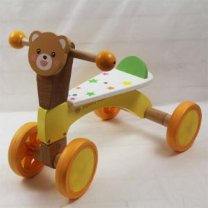 Wooden Baby Tricycle, New Kid Wooden Tricycle, Baby Walker pictures & photos