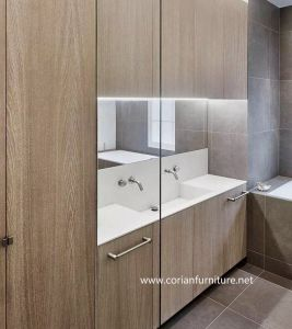 Modern Home Bathroom Design Bathroom Cabinets with Basin pictures & photos