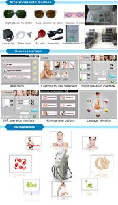Elight/IPL+ Shr+ ND YAG Laser +RF Beauty Salon Equipment for Tattoo Hair Removal and Skin Care pictures & photos