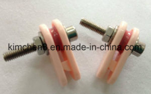 Caged Ceramic Wire Jump Preventer Guide Caged Ceramic Pulley (26*8*M4) pictures & photos