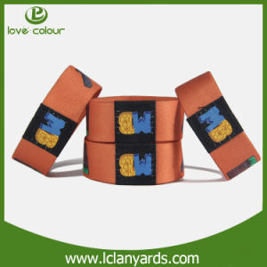 Fashion Elastic Wrist Band Cheap Custom Polyester Wristband pictures & photos