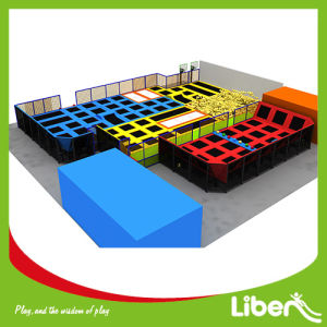 Factory Indoor Trampoline Centre Custom Made Indoor Trampoline Area pictures & photos