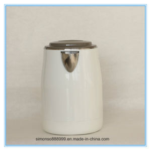New Design 220V Jar Double Layer Stainless Steel Electric Kettle pictures & photos