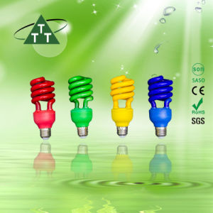 Energy Saving Lamp 105W Half Spiral Tri-Color 2700k-7500k E27/B22 220-240V pictures & photos
