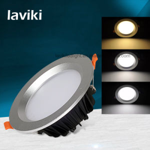 Recessed LED Ceiling Downlight for Office, Hotel with 3-12W
