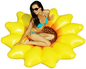 Inflatable Sunflower Pool Float, Swimming Pool Floating Island pictures & photos
