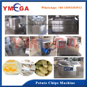 Automatic Working Cassava /Potato/ Banana/Plantain Chips Processing Machine pictures & photos