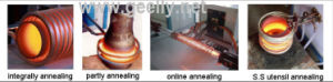 High Frequency Induction Heating Machine Wire Material Annealing Quenching Equipment pictures & photos