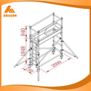 High Quality Aluminium Scaffold (SDW-01) pictures & photos