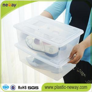 Transparent Plastic Shoe Storage Box pictures & photos