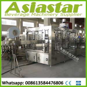 Automatic Iced Tea Drinks Fruit Juice Filling Packing Bottle Machine pictures & photos