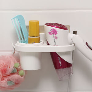 Plastic Hair Dryer Holder with Suction Cup pictures & photos