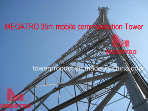 Megatro 35m Mobile Communication Tower pictures & photos