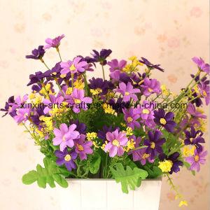 Cheap Artificial Daisy Flower Bouquet Decorative Flower Wholesale pictures & photos