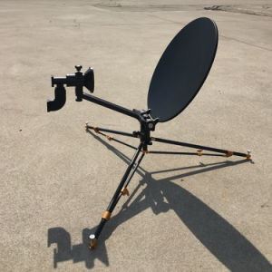 0.4m Carbon Fiber Flyaway Vsat Antenna pictures & photos