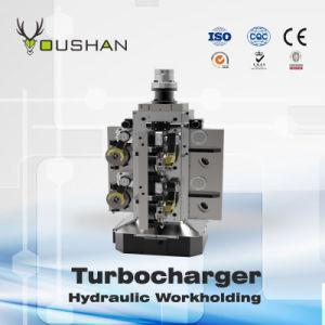 Turbocharger Intermediate Horizontal Hydraulic Fixture