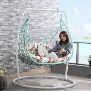 2017 New Double Swing Swing, Rattan Furniture, Rattan Basket (D158) pictures & photos