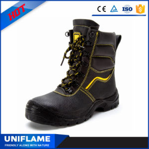 Utex High Ankle Steel Toe Cap Bottom Safety Shoes Ufa021 pictures & photos