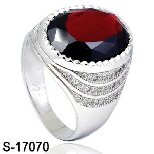 Man Ring 925 Silver Fashion Diamond CZ Ring pictures & photos