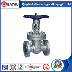 DIN3352 Cast Steel Rising Stem Gate Valve pictures & photos