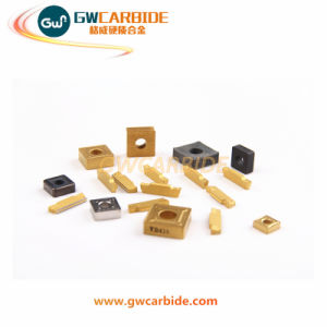 Tungsten Carbide CNC Indexable Turning Milling Inserts pictures & photos