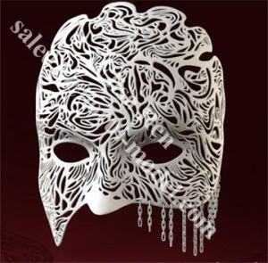 Cheap SLA/CNC 3D Printing Ball Party Mask Rapid Prototype Customized Service pictures & photos