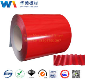 China Factory Corrugated Metal Sheets/Color Coated Roofing Steel pictures & photos