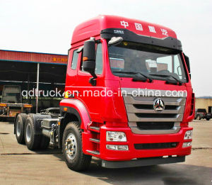 SINOTRUK 6X4 tractor truck with MAN Engine pictures & photos