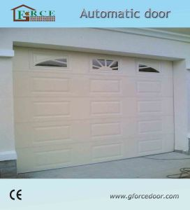 Remote Control Automatic Overhead Sandwich Car Entrance Door pictures & photos