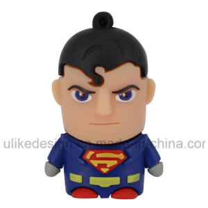 Super Man PVC USB Flash Drive (UL-PVC012) pictures & photos
