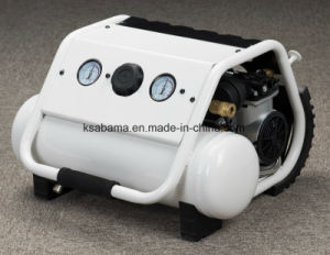 Tat-0308hn 0.5HP 8L Tank Handcarry Oil Free Silent Air Compressor pictures & photos
