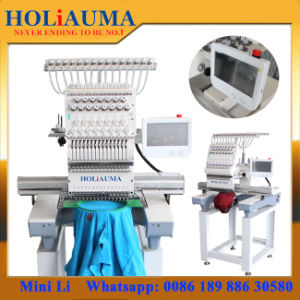 One Head Similar Tajima Commercial Embroidery Machine and Equipments with 15 Needles pictures & photos
