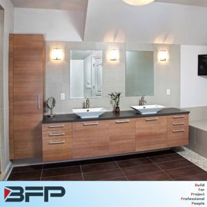 New Design Woodgrain Wall Cabinet for Shower Room Vanity Sink pictures & photos